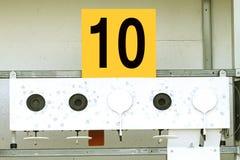 Biathlon . Target sports shooting № 10.  Stock Photos