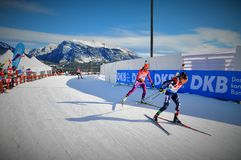 Biathlon World Cup 2016 Royalty Free Stock Images