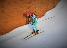 Biathlon World Cup 2016 Stock Photos