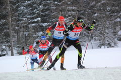 Biathlon Royalty Free Stock Photo