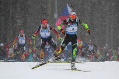 Biathlon Royalty Free Stock Photography