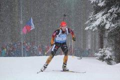 Biathlon Stock Photo