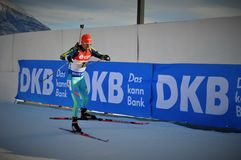 Biathlonwereldbeker 2016 Royalty-vrije Stock Fotografie