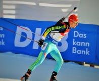 Biathlonwereldbeker 2016 Stock Foto