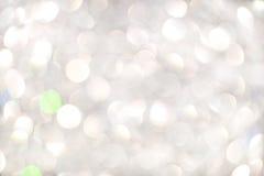 Biały bokeh Obraz Stock