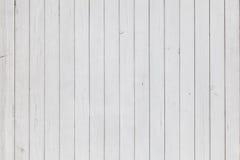 Biały Drewniany tło Obraz Royalty Free