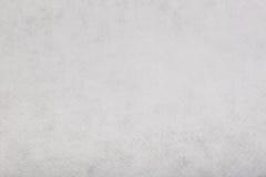 Biały odczuwany tkankowy płótno, zbliżenie tekstury tło Fotografia Stock