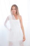 Biały tiul Zdjęcie Royalty Free