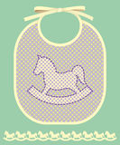 Bib with horse Stock Photo