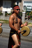 Bibak BC Igorot Dancer, Pinoy Fiesta Parade Royalty Free Stock Photo