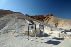 Biban Al Muluk Tomb stock photos