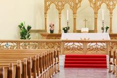 Bibbia in cattedrale luterana evangelica Immagine Stock Libera da Diritti