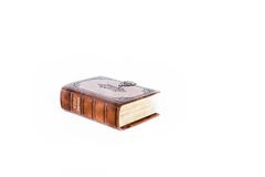 Bibbia del cuoio di Brown Fotografie Stock Libere da Diritti