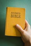 Bibbia di affari Fotografie Stock
