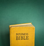 Bibbia di affari Immagini Stock Libere da Diritti