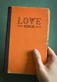 Bibbia di amore Fotografia Stock Libera da Diritti