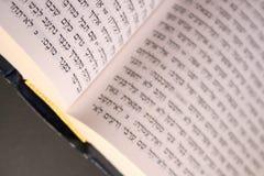 Bibbia ebraica Fotografie Stock