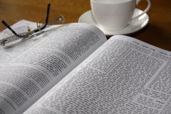 Bibbia ebrea Fotografie Stock