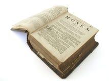 Bibbia molto vecchia Fotografia Stock Libera da Diritti