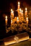 Bibbia in una cappella Fotografia Stock Libera da Diritti