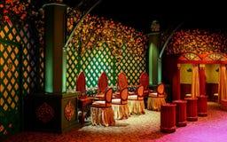 Bibbidi-bobbidi Boutique an königlichem Prinzessingarten in Disneyland Hong Kong lizenzfreie stockfotografie