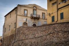 Bibbona Val Di Cecina, Λιβόρνο, Τοσκάνη, Ιταλία - παλαιό κάθισμα Στοκ εικόνες με δικαίωμα ελεύθερης χρήσης