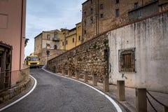 Bibbona in Val di Cecina, Livorno, Toskana, Italien Lizenzfreies Stockfoto