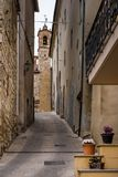 Bibbona in Val di Cecina, Livorno, Toskana, Italien - das pari Lizenzfreie Stockbilder