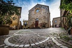 Bibbona in Val di Cecina, Livorno, Toskana, Italien - das pari Stockfoto
