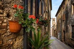 Bibbona in Val di Cecina, Livorno, Toskana, Italien - das pari Lizenzfreies Stockbild