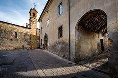 Bibbona in Val di Cecina, Livorno, Toskana, Italien - das pari Lizenzfreies Stockfoto