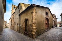 Bibbona in Val di Cecina, Livorno, Toskana, Italien - das pari Lizenzfreie Stockfotos
