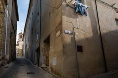 Bibbona in Val di Cecina, Livorno, Toskana, Italien - das pari Lizenzfreie Stockfotografie