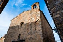 Bibbona in Val di Cecina, Livorno, Toskana, Italien - Kirche O Stockfoto