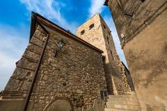 Bibbona in Val di Cecina, Livorno, Toskana, Italien - mittelalterlich Stockbilder