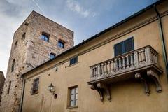 Bibbona in Val di Cecina, Livorno, Toskana, Italien - mittelalterlich Stockfotos
