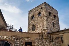 Bibbona in Val di Cecina, Livorno, Toskana, Italien - mittelalterlich Lizenzfreie Stockbilder