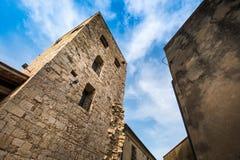 Bibbona in Val di Cecina, Livorno, Toskana, Italien - mittelalterlich Stockfoto