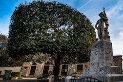 Bibbona in Val di Cecina, Livorno, Toskana, Italien - Monument Stockfotos