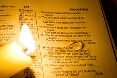 Bibel Royaltyfri Fotografi