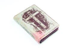 Bibel auf weißem Hintergrund Lizenzfreie Stockfotos