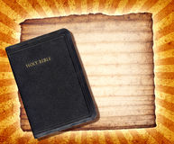 Bibel-Collage Stockfoto
