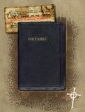 Bibel-Collage Lizenzfreies Stockfoto
