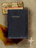 Bibel-Collage Stockbild