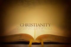 Bibel och kristendomen stock illustrationer