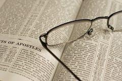 Bibel-Studie Stockbild