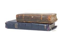 Bibel und altes Buch Stockfotografie