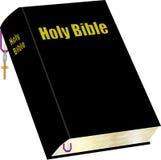 Bibel und Bookmark lizenzfreie abbildung