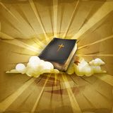 Bibel vektorbakgrund stock illustrationer