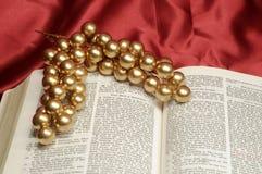 Bibel-Weihnachtsdurchführung Lizenzfreies Stockfoto